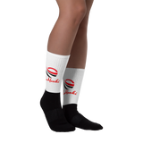 LaMonki Sym Black foot socks