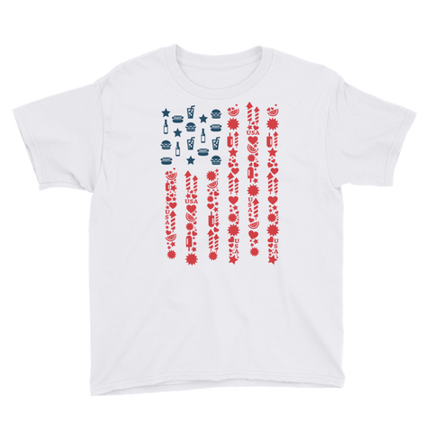Matisse USA Flag Youth Short Sleeve T-Shirt