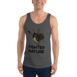 Fighter by Nature Unisex  Tank Top