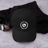 White G Emblem Dad hat