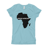 Proud African Girl's T-Shirt