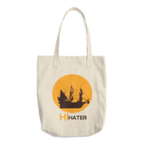Hi Hater Cotton Tote Bag