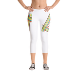 LaMonki White Capri Leggings