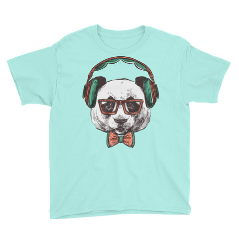 Dj Bear Youth Short Sleeve T-Shirt