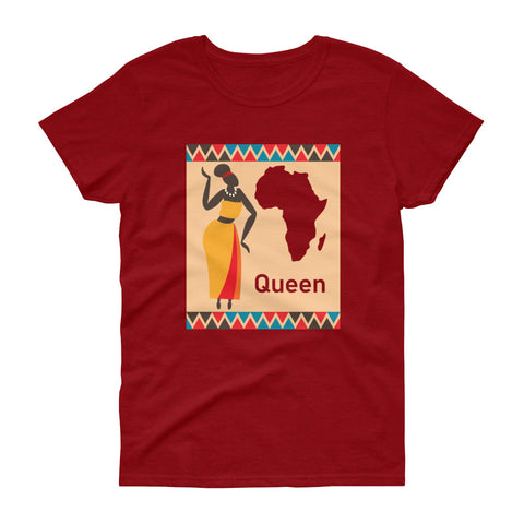 African Queen Women's short sleeve t-shirt