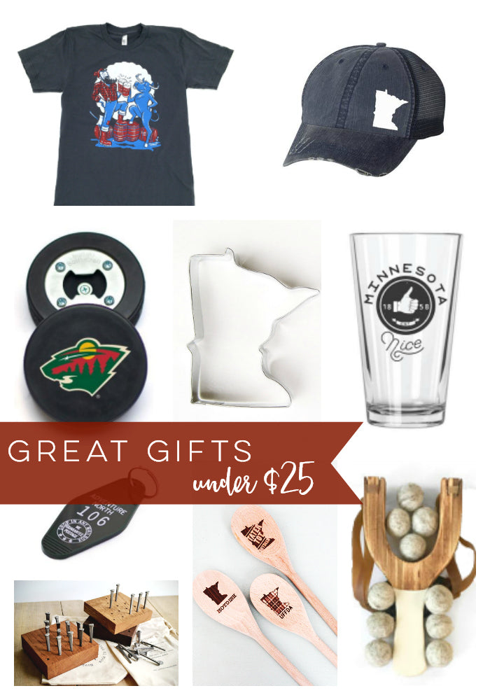 Great Gifts Under $25 from Carver Junk Company | Locally Made Gift Ideas