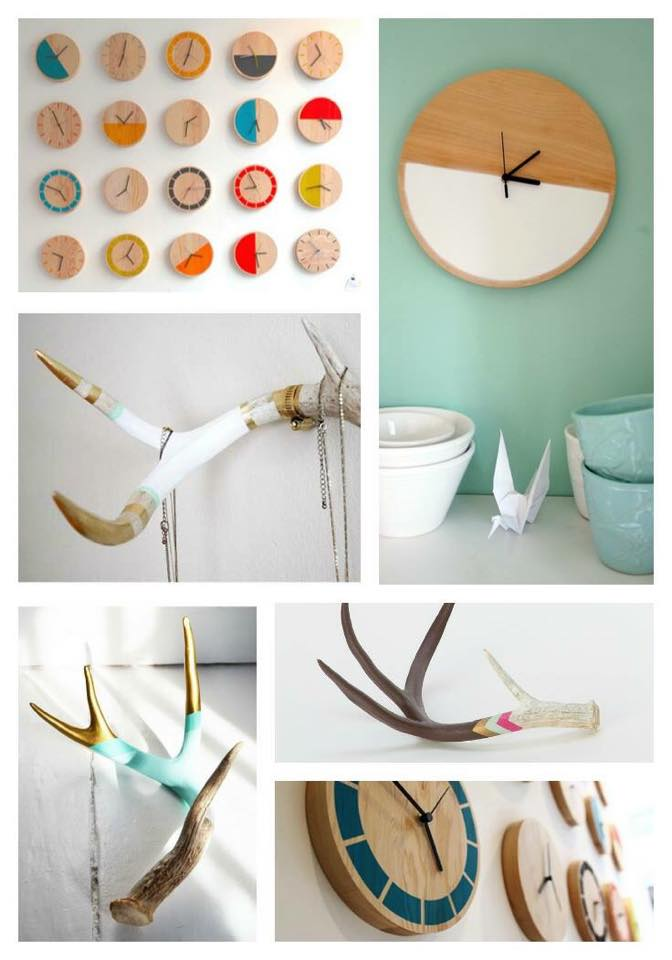 Modern Clock and Painted Antler DIY Workshop | Carver Junk Company | Minneapolis, MN | Craft Workshop | Ladies Night Ideas