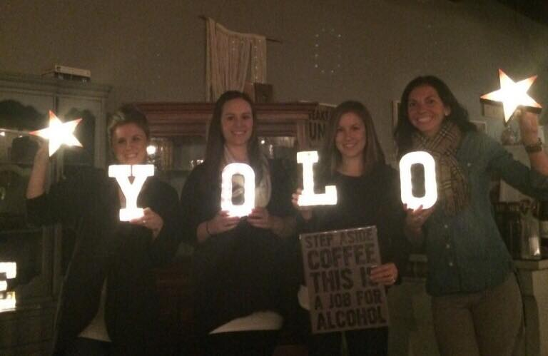 YOLO Marquee | Ladies Night | MakeMN Carver Junk Company
