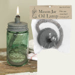 Mason Jar Oil Lamp | Carver Junk Company Mason Jar Bar | Choose Your Own Mason Jar Accessories