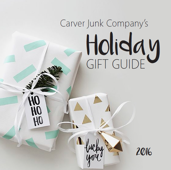 Carver Junk Company's Holiday 2016 Gift Guide | Handmade Christmas Gifts | Locally Made Minnesota Gifts for Women, Men, Kids, Wife or Husband!