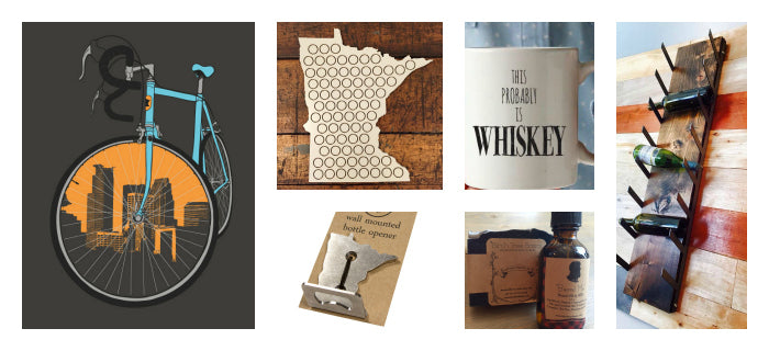 Carver Junk Company Holiday 2015 Gift Guide | Minnesota Handmade Gifts | Minneapolis