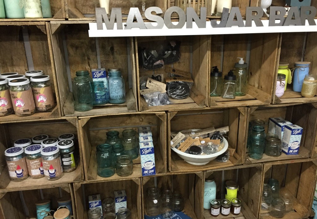 Mason Jar Bar at Carver Junk Company