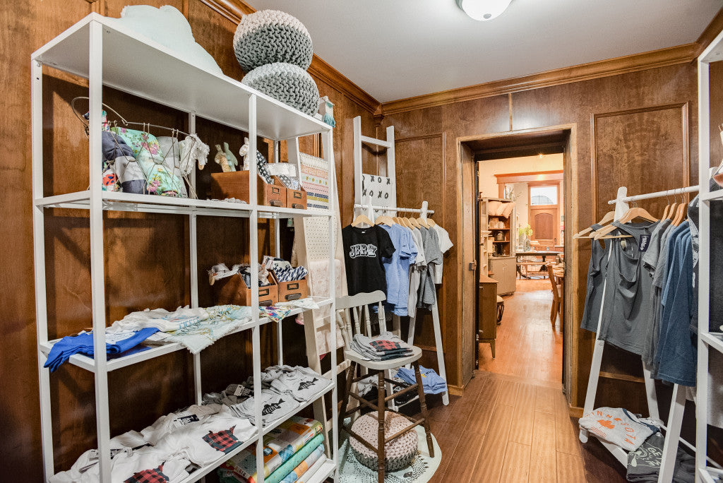 Carver Junk Company's New Chaska Location | The Vault | Apparel and Accessories | Clothing Racks | Clothing Display Ideas | Bath & Body