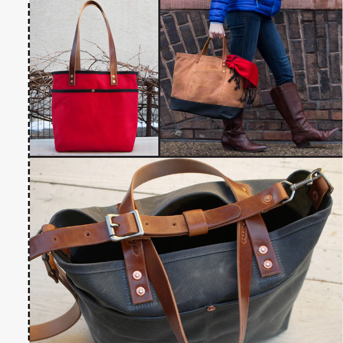 Handcrafted Waxed Canvas and Leather Bags | Carver Junk Company's 2016 Holiday Gift Guide | Handcrafted, Handmade, Locally Created Gifts and Decor | Minnesota Brick and Mortar | Shop Online at carverjunkcompany.com