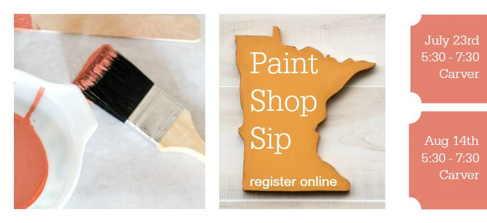 Milk Paint Workshop | Wine and Paint Classes | Minneapolis, MN | Carver Junk Company