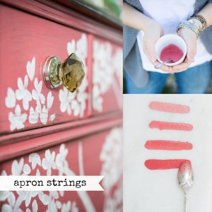 Apron Strings | Retired Color | Miss Mustard Seed's Milk Paint | Carver Junk Company | Milk Paint Colors Retiring