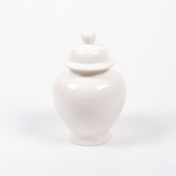 Large Ginger Jar - White