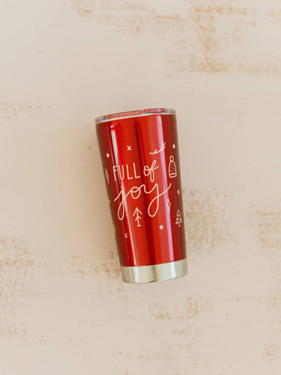 Full of Joy Insulated Tumbler Mug