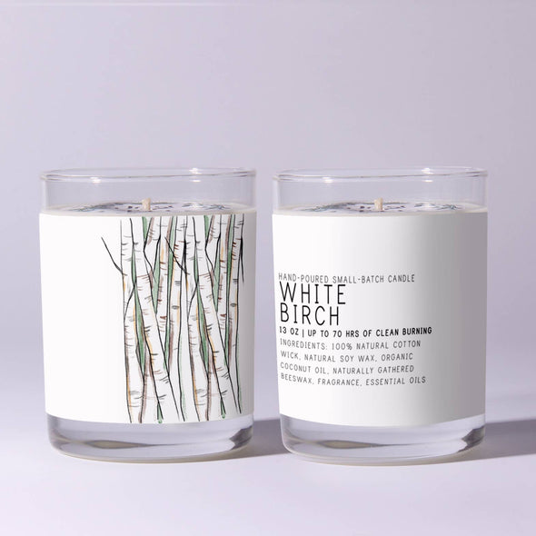 White Birch Candle