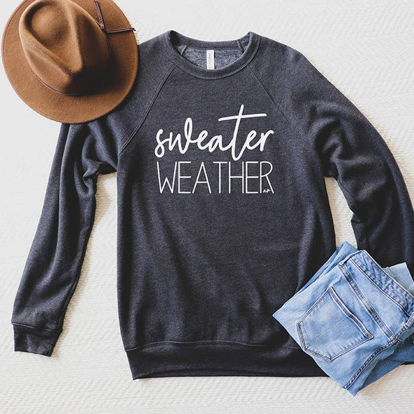 Sweater Weather Pullover Sweatshirt
