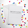 You're Really Old: Birthday Card Bundle of 4 Chards