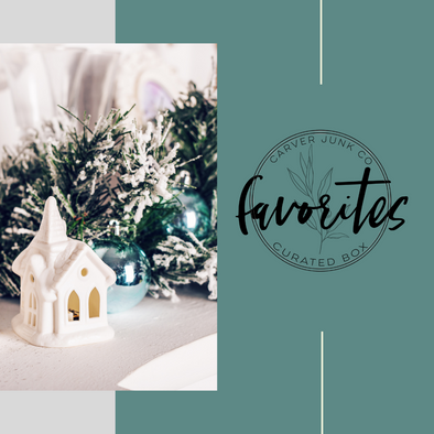 Favorites Home Decor Box: Christmas 2021