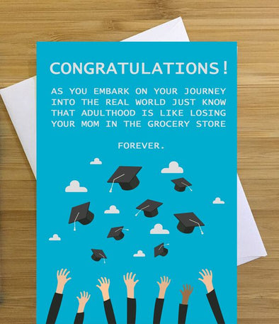 Congrats as You Embark on Your Journey Greeting Card