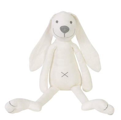 Richie Rabbit Ivory Linen Heirloom Stuffie