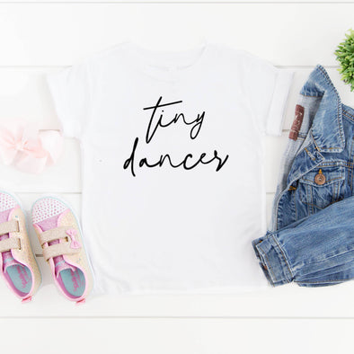 Toddler Graphic Tee- Tiny Dancer