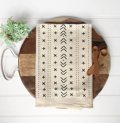 Boho Mudcloth Tea Towel