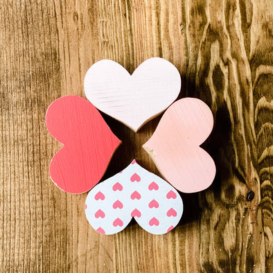 Wood Heart - Small Handcrafted Decor