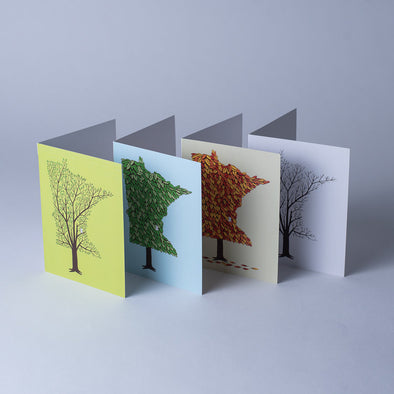 MN Grown Greeting Card Set, Minnesota Season Cards