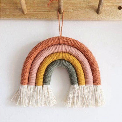Rainbow Yarn Art DIY Craft Kit