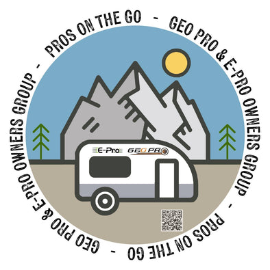 PRE-ORDER: Pros On The Go Sticker (ships early December)
