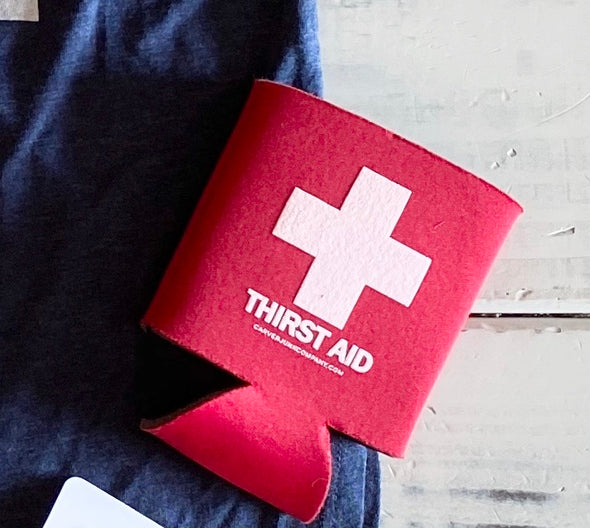 Thirst Aid Collapsible Koozie
