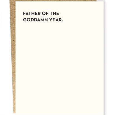 Father of the Year Card: Father's Day