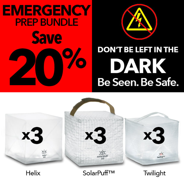 Solight Solar Lantern Light Hurricane Emergency Kit