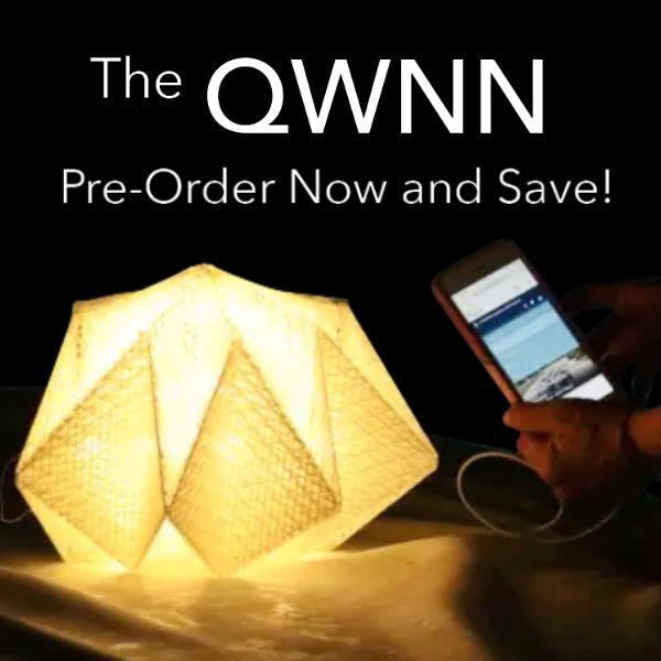 SOLIGHT DESIGN QWNN Solar Light + Phone Charger Power Bank