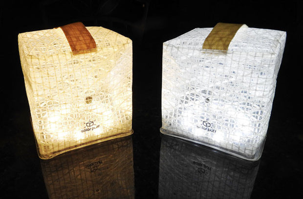 bright and warm white solar lanterns