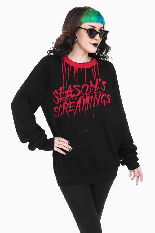 Season's Screamings Sweater