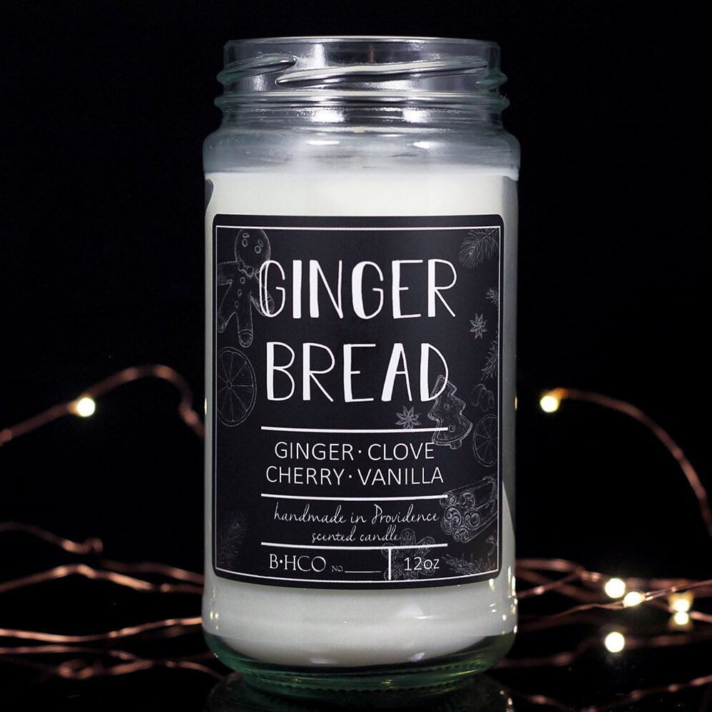Burke & Hare Candle - Ginger Bread - last one