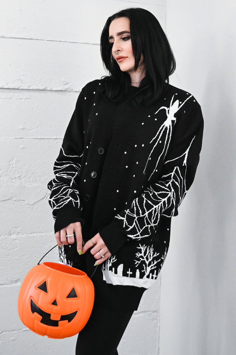 Old Burial Ground Cardigan Sweater - only XS left!