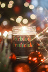 Foxblood's Fruitcake Holiday Candle by Burke and Hare Co