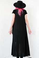 Sleeveless Flowing Duster - LIMITED