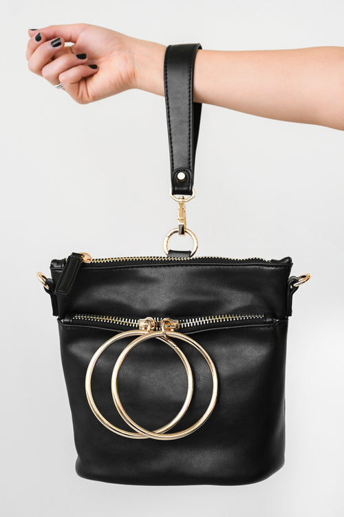 Switching Positions Crossbody Bag