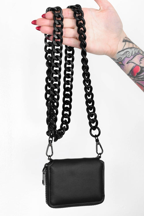 Next Level Mini Cross Body Bag - ALL BLACK