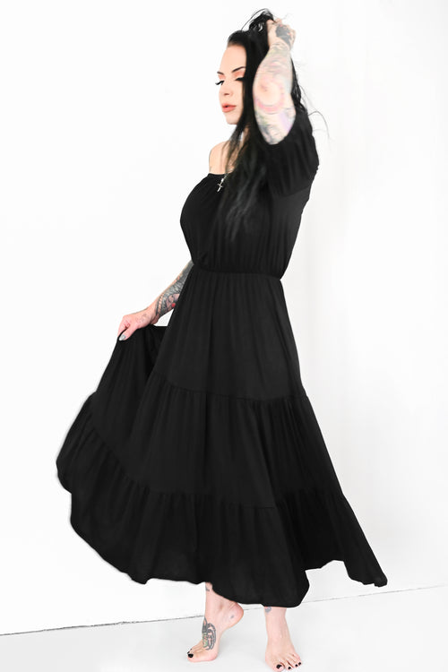 Camila Off The Shoulder Maxi Dress