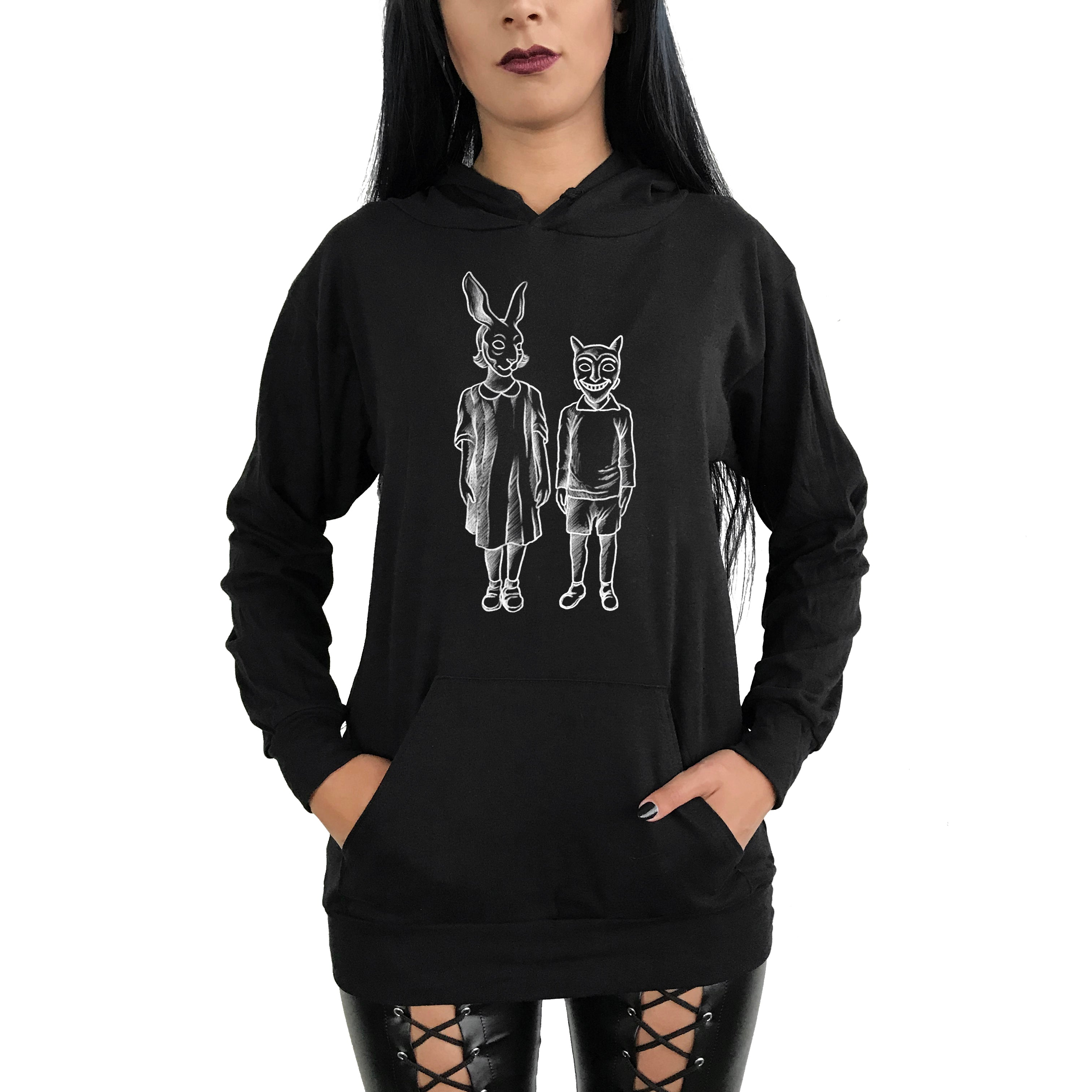 Trick or Treat! Pull Over Hoodie (Unisex)