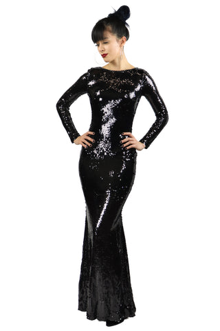 Vanessa Sequin Mermaid Gown