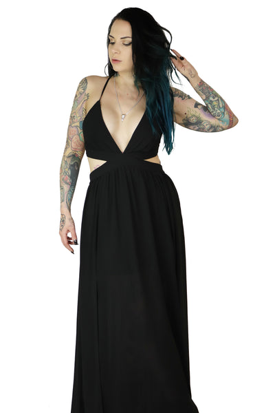 X Marks The Spot Maxi Dress - Limited